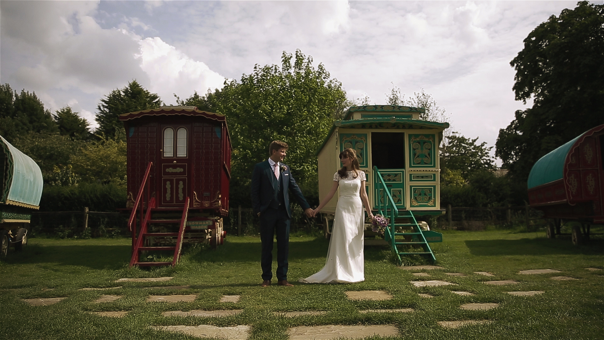 South farm wedding video