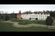 Gosfield Hall drone footage