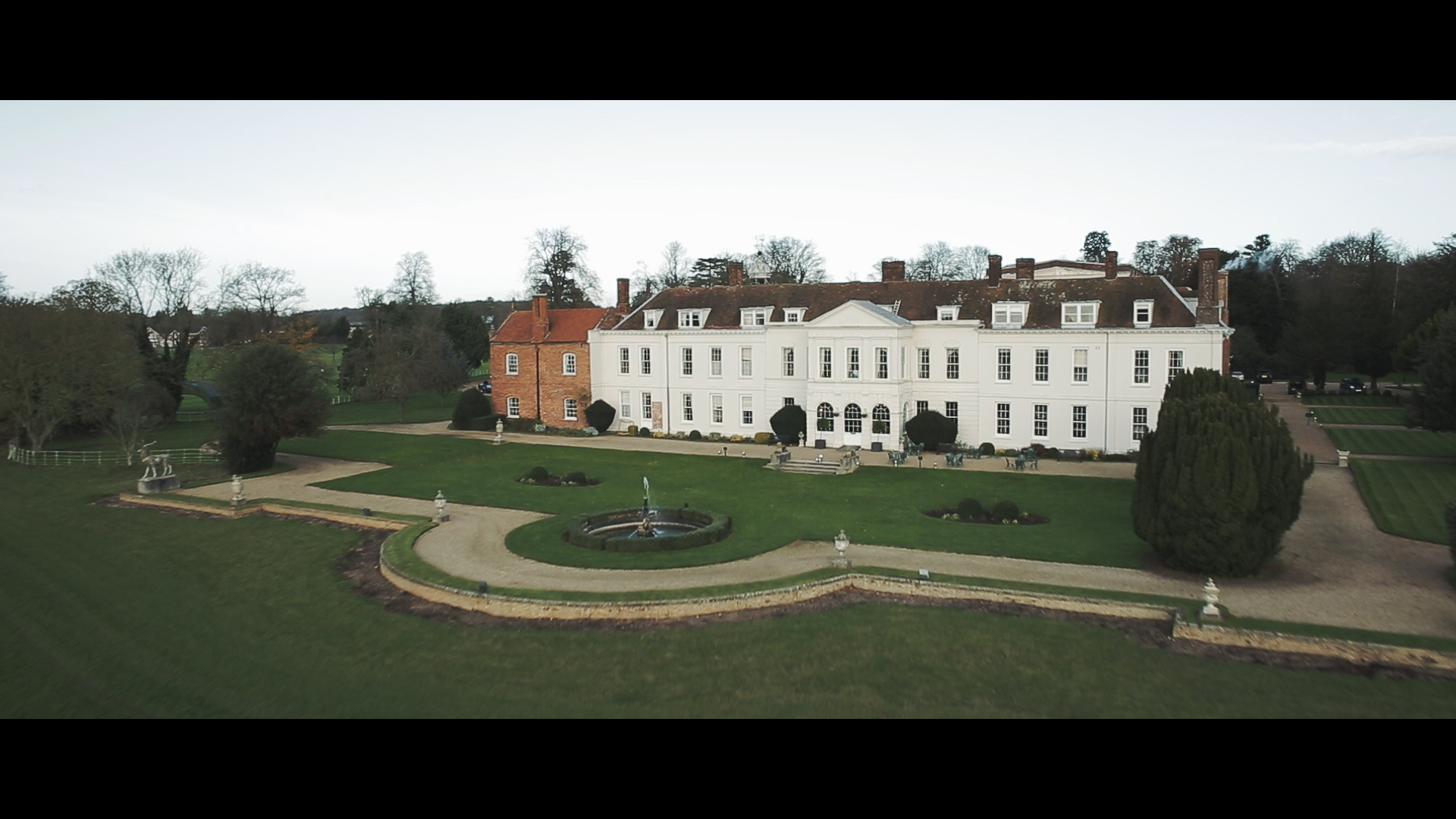 Gosfield Hall drone footage