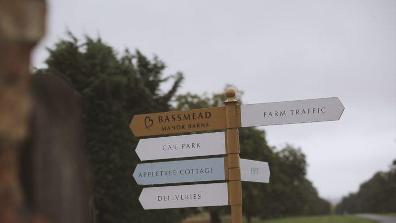 Rachel + Gwilym || Bassmead Manor Barns