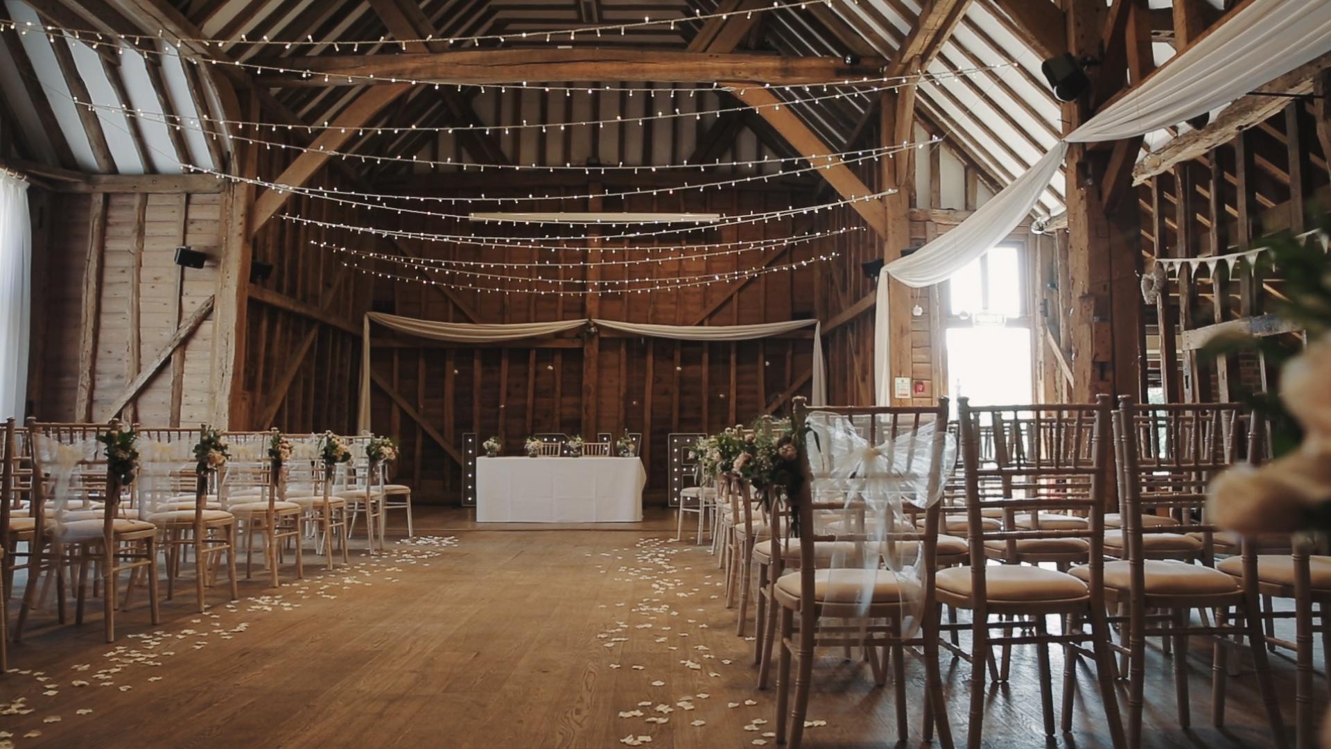 Wedding video Tewin Bury Farm