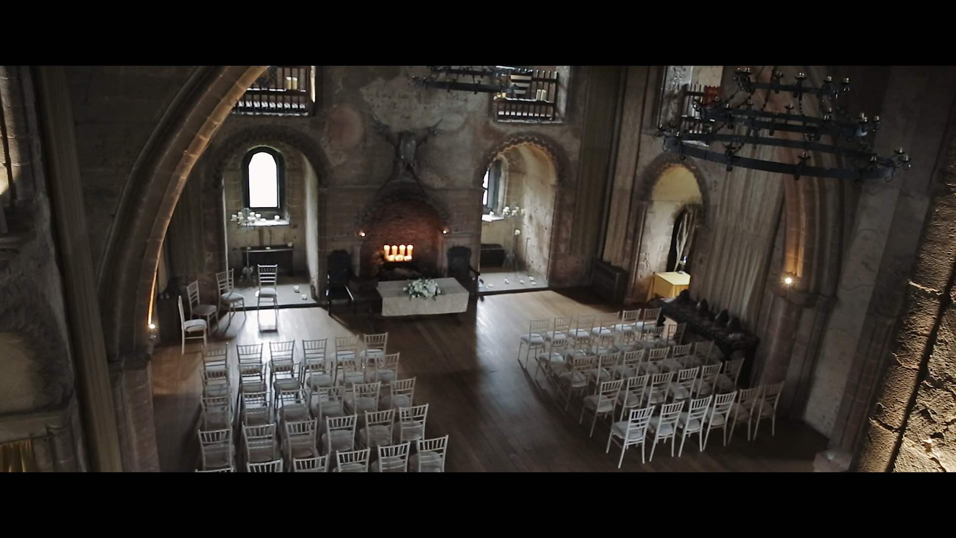 Wedding video from Hedingham Castle