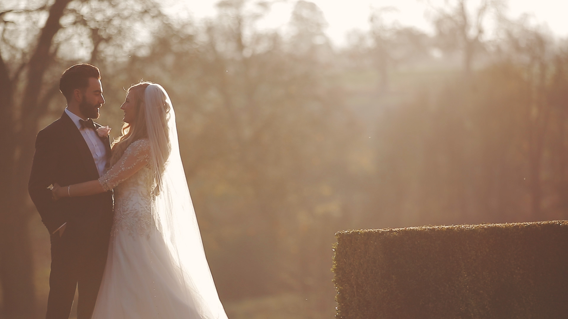 Rushton Hall wedding video