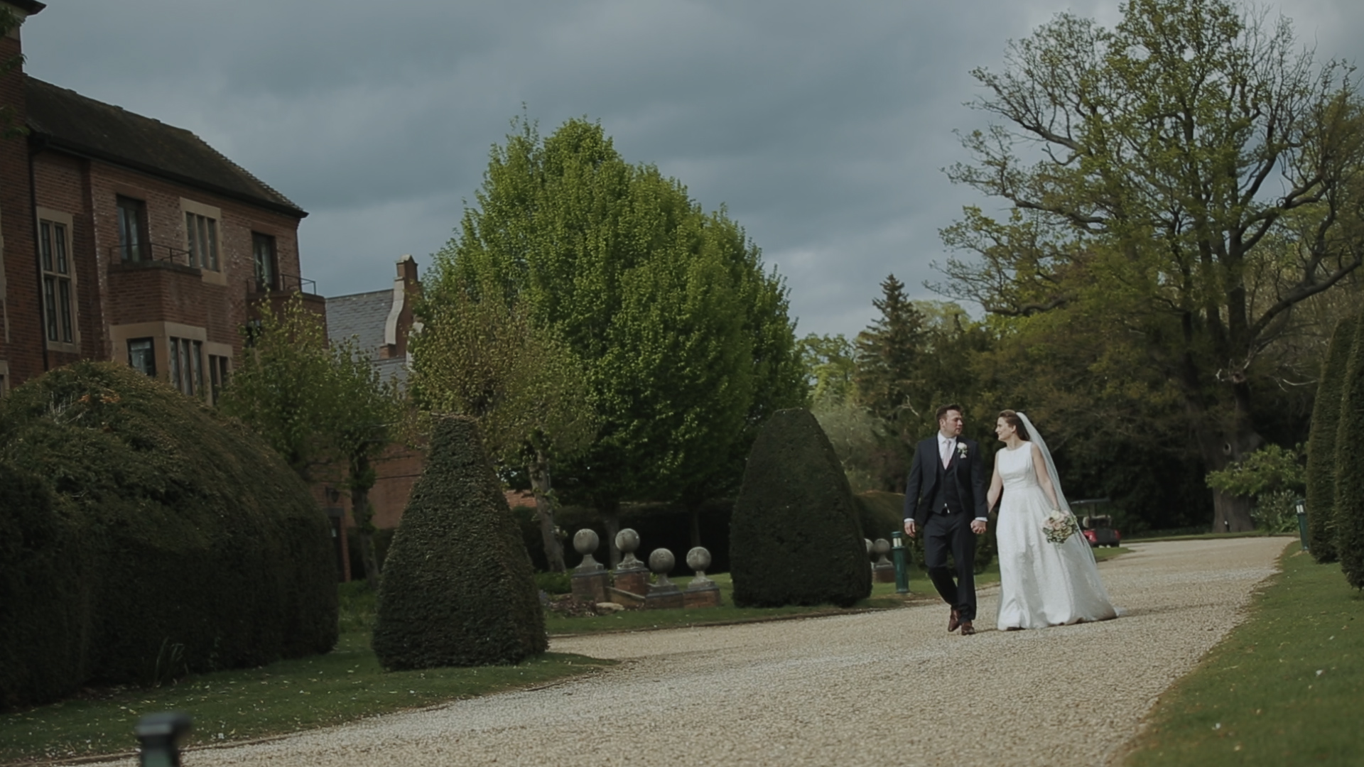 wedding video Hanburt manor
