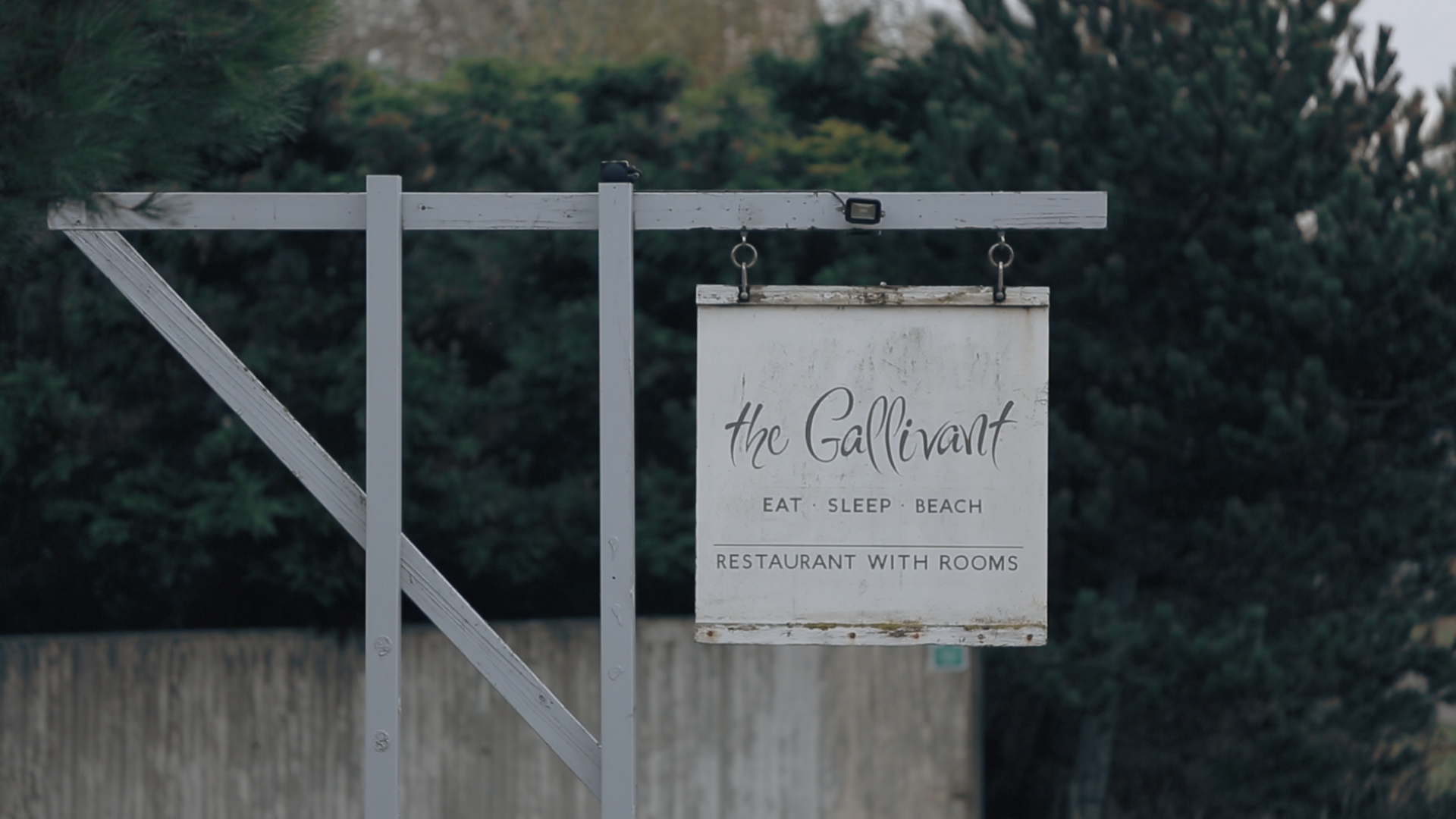 Wedding video from the Gallivant